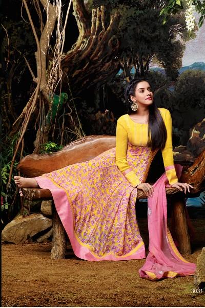 Gorgeous Asin Anarkali Suit