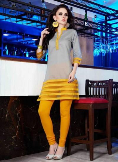 Grey Designer Kurti