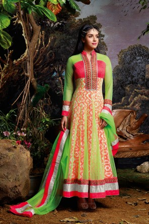 Gorgeous Asin Anarkali Suit