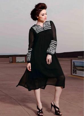 Black Designer Kurti