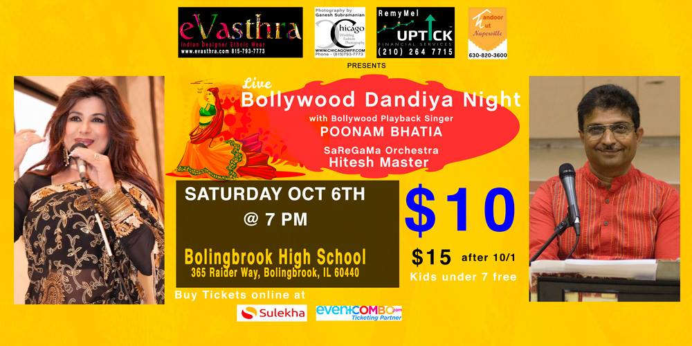 Dandiya tickets